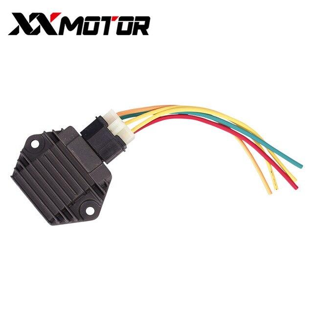 Redresseur de tension chargeur avec prise | Pour Honda CB250 CB400 CB600 CBR900 CBR 600 900 F2 1100XX VT250