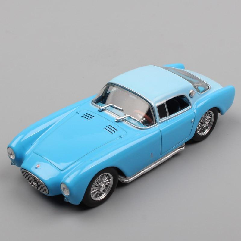 1/43 Scale A6 GCS Berlinetta Pininfarina Grand Tourers Coupe Spyders Sportscars Diecast Miniature Auto Models Toys For Children