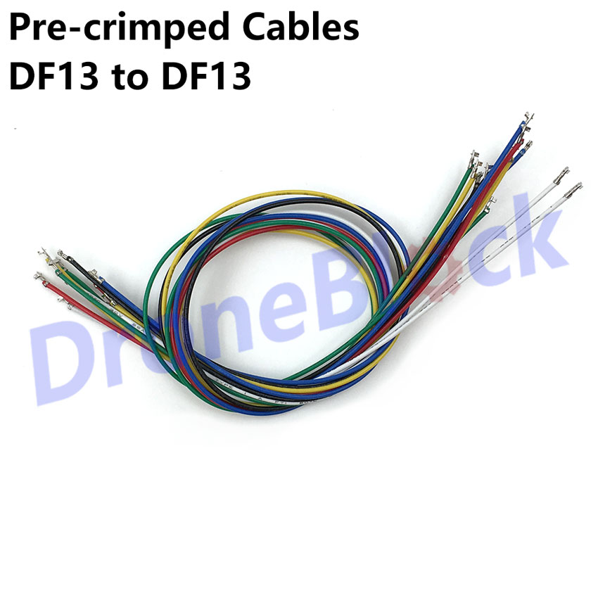 14Pcs/a lot 7 colors DF13 to DF13 Pre-crimped Cables Pixhawk/apm/PX4 GPS Telemetry Transmitter OSD Bluetooth14Pcs/a lot 7 colors DF13 to DF13 Pre-crimped Cables Pixhawk/apm/PX4 GPS Telemetry Transmitter OSD Bluetooth