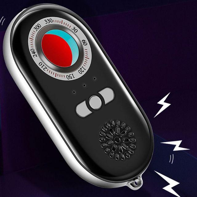 多機能赤外線検出器アンチスパイ隠しカメラ検出器赤外線抗ワイヤレスアラームアンチロスト盗難防止警報システム感知装置