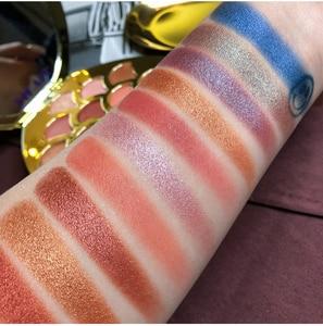 Image 5 - Mermaid Eyeshadow Palette 14 สี Shimmer Matte Glitter อายแชโดว์ Pallete METALLIC PigmentedCosmetic MakeupPalette หนัง