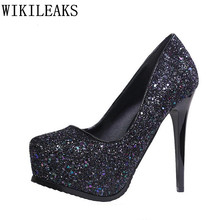 italian euros designer luxury brand mary jane shoes woman flock crystal high heels women platform shoes sexy nightclub pumps
