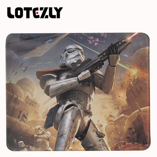 Range of Star Wars Rubber Mouse Pads