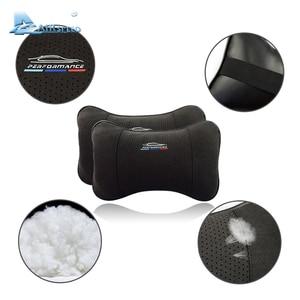 Image 5 - Hava hızı deri araba yastığı boyun yastık kafalık aksesuarları evrensel için BMW ///M E46 E90 E92 E60 E39 E36 F30 F10 f20 G30 E87