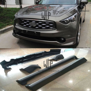 FX35 PP Materials Black Primer Auto Car Styling For Infiniti FX35 Car Body Kit Free Shipping 2009-2013