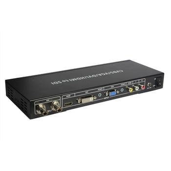 CVBS VGA DVI HDMI To SDI Converter ALL to SDI Scaler Converter Composite Video VGA DVI HDMI signals to SDI HD video Formats