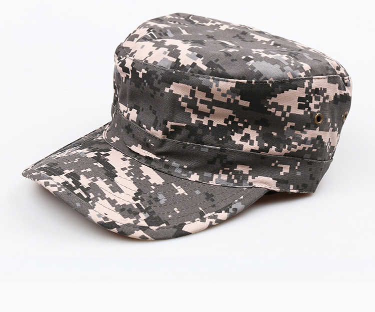 0366fbc7a1719f ... Unisex Tactical Hunting Camouflage Cap Men Multicam Soldier Combat  Train Hat Outdoor Airsoft Paintball Army Caps ...