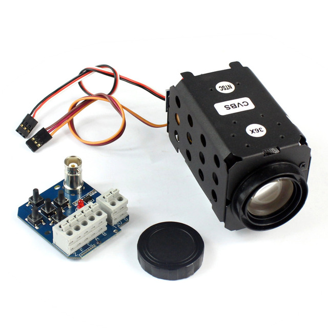 F08993 FPV 1/4 700TVL HD 30X Zoom Adjustable Camera NTSC System for RC DIY Multicopter Quadcopter Drone 1.2G/5.8G Telemetry