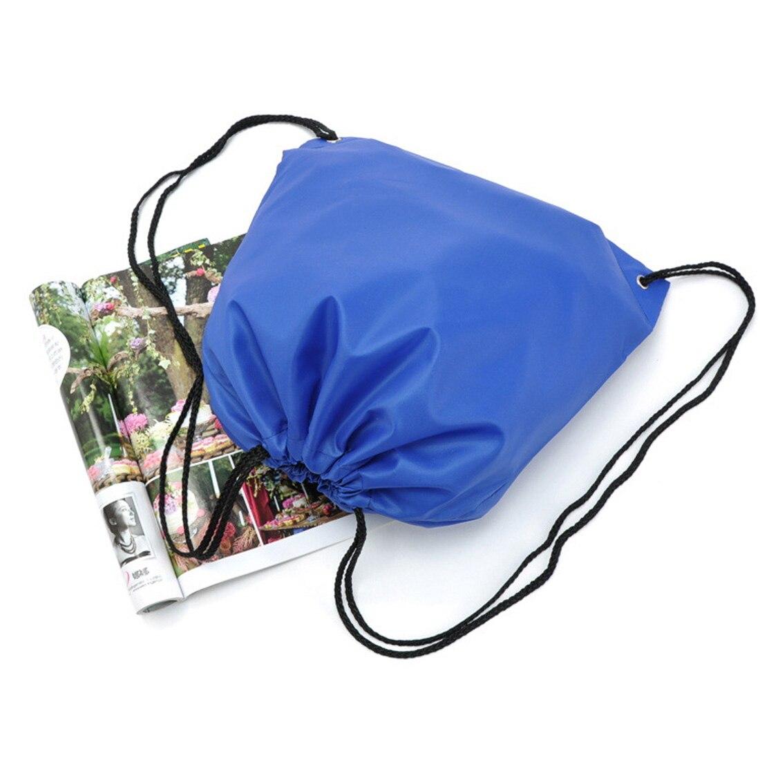 School Sport Bag Gym Swim Dance Shoes Backpack Bundle Custom Nylon Drawstring Bag Rope Backpack Custom Bags Shoulder Bag