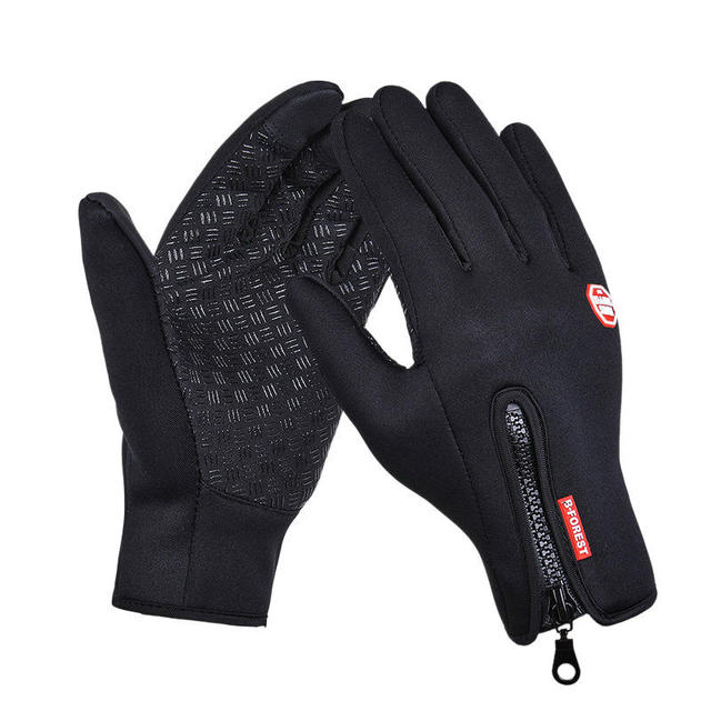 Outdoor sports Windstopper Waterproof gloves bike riding gloves winter full finger horse riding gloves warm fishing GEL glove