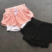 Women's new mesh Running Sport Anti light and high elastic Shorts