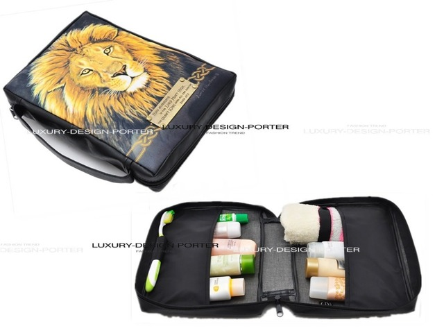 Classic Spacious Men Cosmetic bag Waterproof Handbag Style Travel Toiletry Kit Wash Makeup Bag Shaving Case