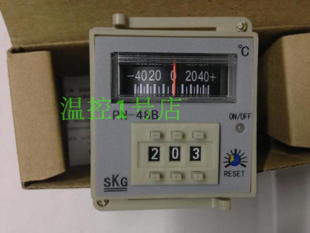 Authentic Zhongshan SKG knob temperature controller temperature controller SKGPN48B PN-48B spot for genuine security  цены