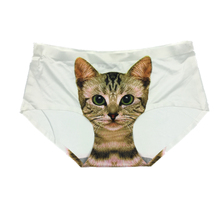 Women's Seamless 3D Cats Printed Panties