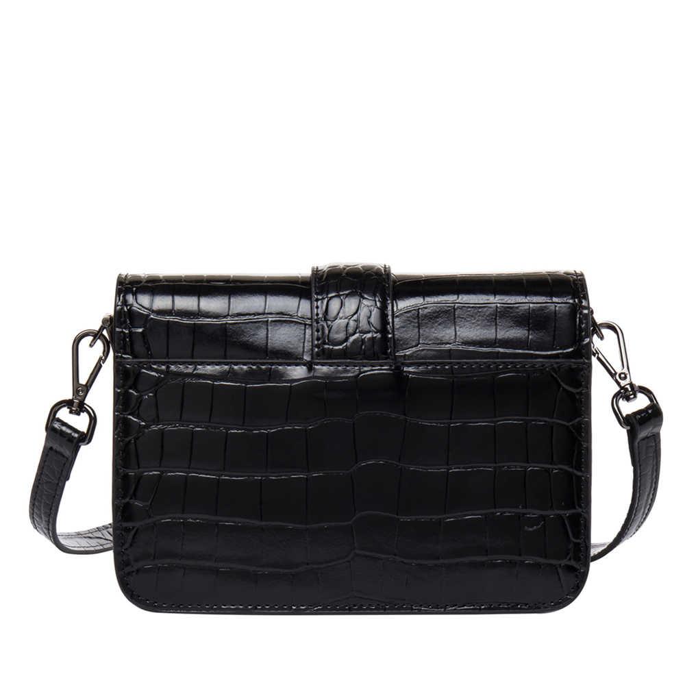 BISON джинсовая дизайнерская женская сумка-мессенджер из натуральной кожи с узором аллигатора, дизайнерская сумка из воловьей кожи, роскошные модные женские сумки N1404