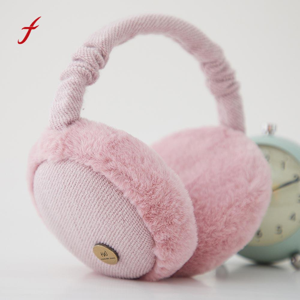 Foldable Earmuffs Creative Burger Shaped Headband Ear Muffs Fur Winter Ear Warmer Earmuffs Ear Muffs Earlap Oorwarmers R4 Men's Earmuffs