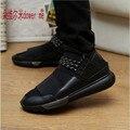 2016 Новая мода Марка мужчины обувь Дышащая Повседневная Обувь Клин 3 Цвет мужчины Y повседневная обувь мужчины Большой Размер 36-44
