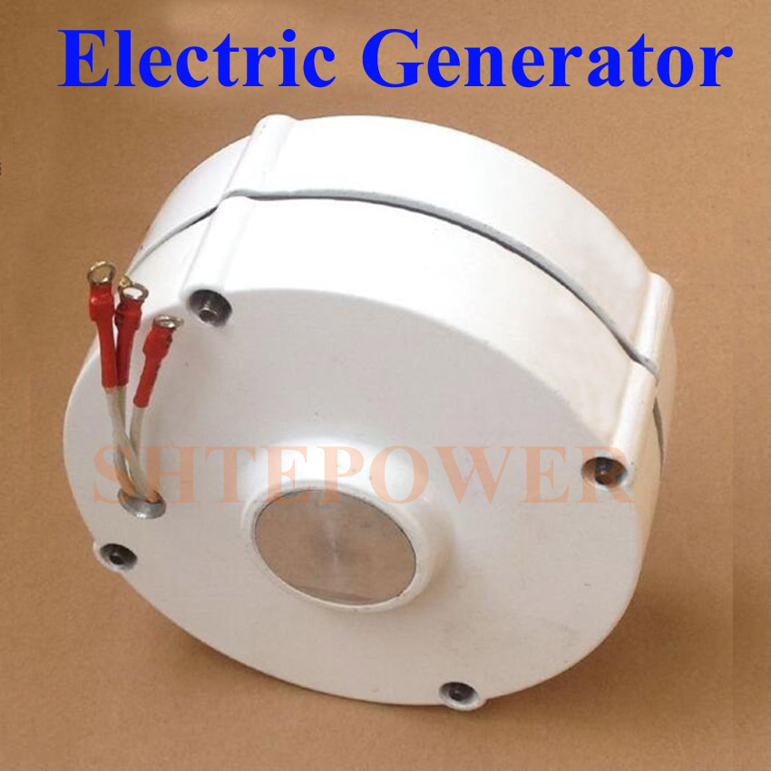 Free shipping generator Permanent magent Wind system 100W 200W 3 phase ac 12V 24V Max Power 230W