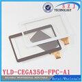 Original 10.1 ''pulgadas MTK6582 A101 N9106 Tableta YLD-CEGA350-FPC-A1 FPC pantalla Táctil Capacitiva Del panel de Cristal Digitalizador replacemnt