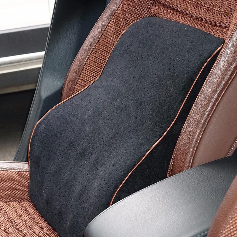 Car Lumbar Cotton Headrest Neck Pillow To Comfort Lower Back Pain 10