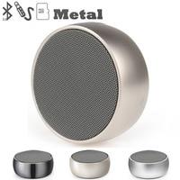 Metal Wireless Bluetooth Speaker Subwoofer Speakers Mp3 Player Portable Speaker Tweeter Aux Wifi Speaker Sound Audio
