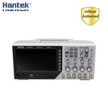 Hantek DSO4254C האחסון הדיגיטלי אוסצילוסקופ 4 ערוצים 250Mhz LCD מחשב נייד USB אוסצילוסקופ + שלוחה + DVM + אוטומטי טווח פונקציה