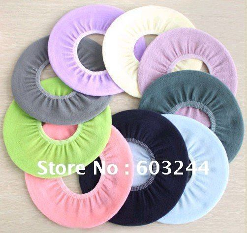 Free EMS 200 Pieces Mixed Household soft toilet seat cover Winter Warm Soft Toilet Cover WC cover