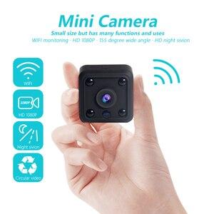 Image 1 - INQMEGA الأصلي واي فاي كاميرا صغيرة كاميرا 720P فيديو CMOS الاستشعار للرؤية الليلية كاميرا مايكرو كاميرات DVR مسجل الحركة