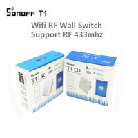 ITEAD Sonoff T1 EU UK Smart WiFi RF 433 APP Touch Control Wall Light Switch 1