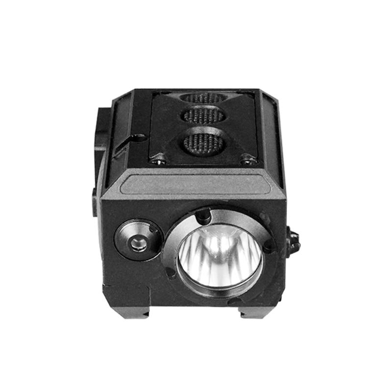 Acecare Promotion livraison directe à chaud LS-CL3-R lampe de poche tactique équipement d'auto-défense avec Laser rouge Combo pour fusil et pistolets