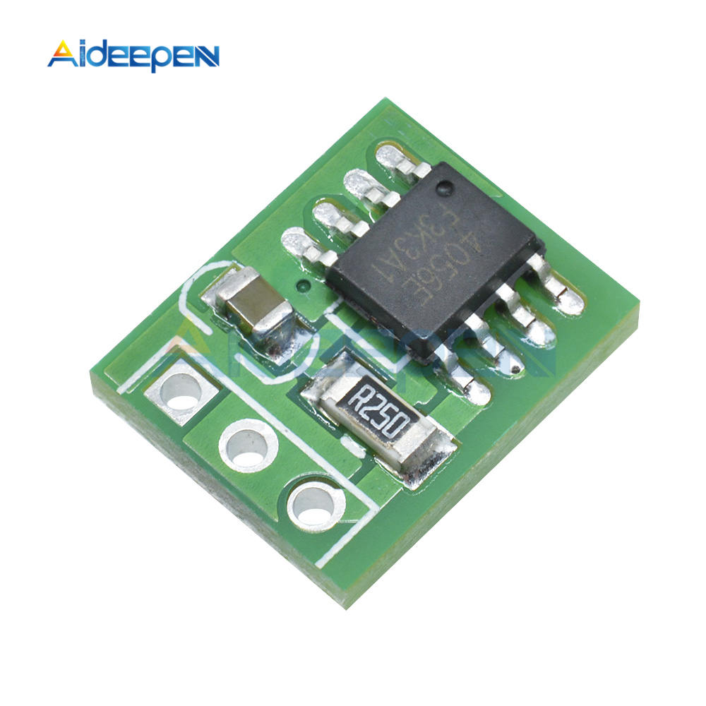 DD08CRMB 5V 1A Ultra-small Li-ion Rechargeable Battery Solar Panel Charger Module Instead TP4056 For 18650 Breadboard Power Bank