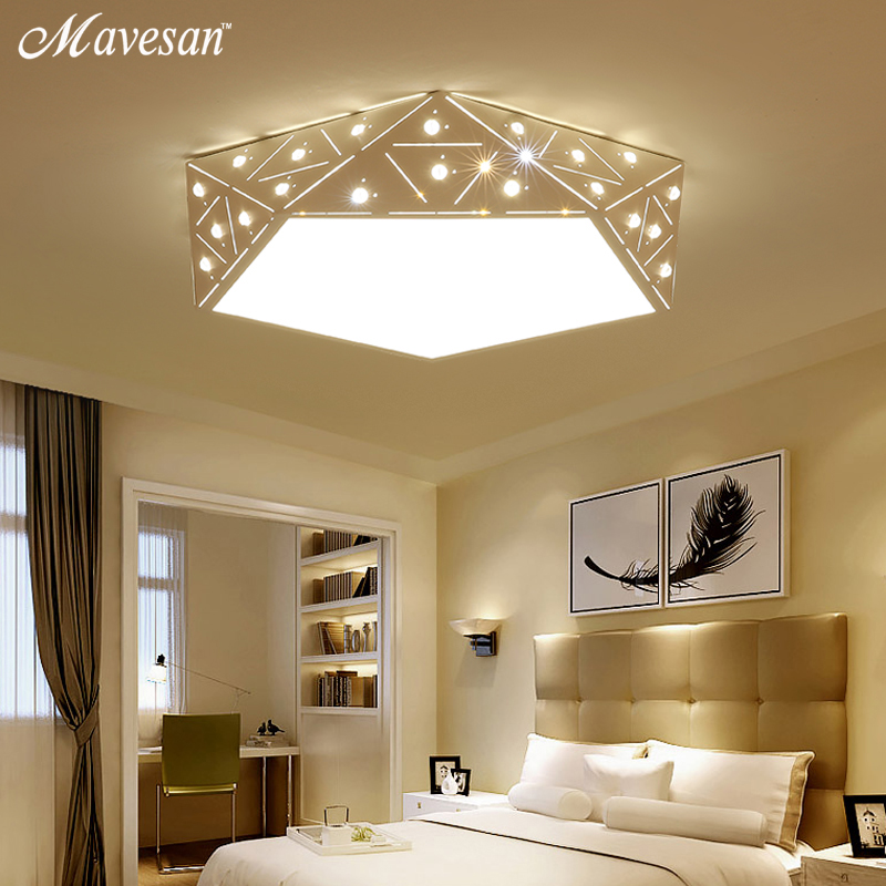 new Ceiling lights LED lamp balck/white color remote control For Bedroom Living room Lights Fixtures home decoration luminaire children lamp creative led ceiling lights remote control dimmer color cartoon absorb living room restaurant superior hotel et36