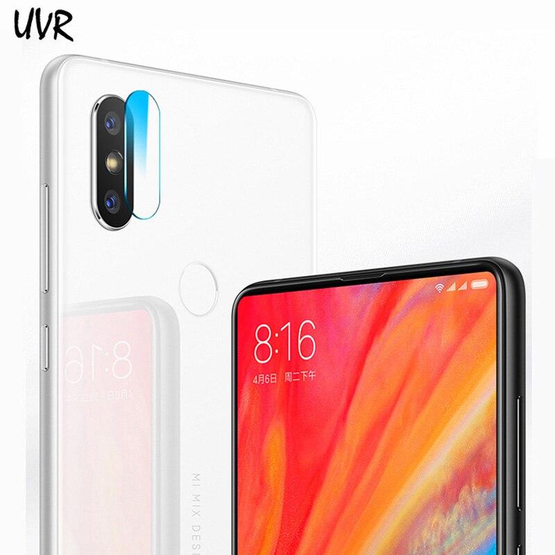 UVR 2PCS For Xiaomi Mi Mix 2S Camera Lens Tempered Glass Screen Protector Film For Xiaomi Mi Mix2S Back Camera Lens Soft Film