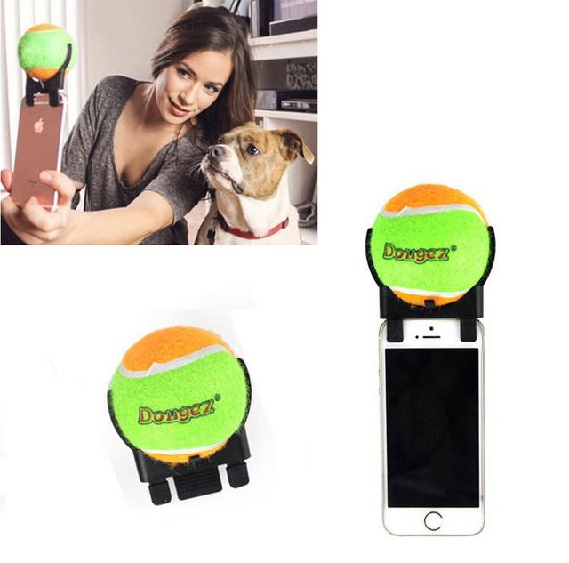 Nowy Pies Zwierzę Zabawka piłka tenisowa samowyzwalacz Śmieszne Twój Pies Psy I Dobre Prezenty Dla Dzieci