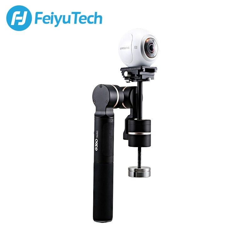 FeiyuTech G360 Handheld Panoramic Camera Gimbal 360 Limitless Panning Axis One-press Panorama Vast Camera Adaptability цены онлайн