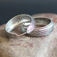 The character of silver S925 silver jewelry wholesale handmade Vintage lady Earrings Ear Ring