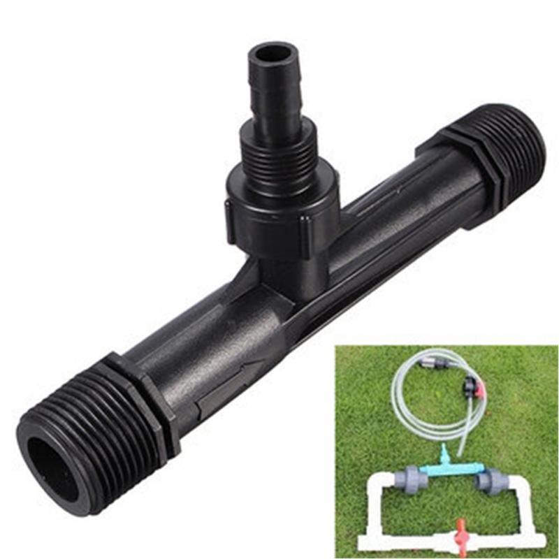 1Pc 1/2 ,3/4 Inch Thread Irrigation Drip Device Flowers Venturi Fertilizer Injector Kit Agriculture Garden Water Tube Home Garde