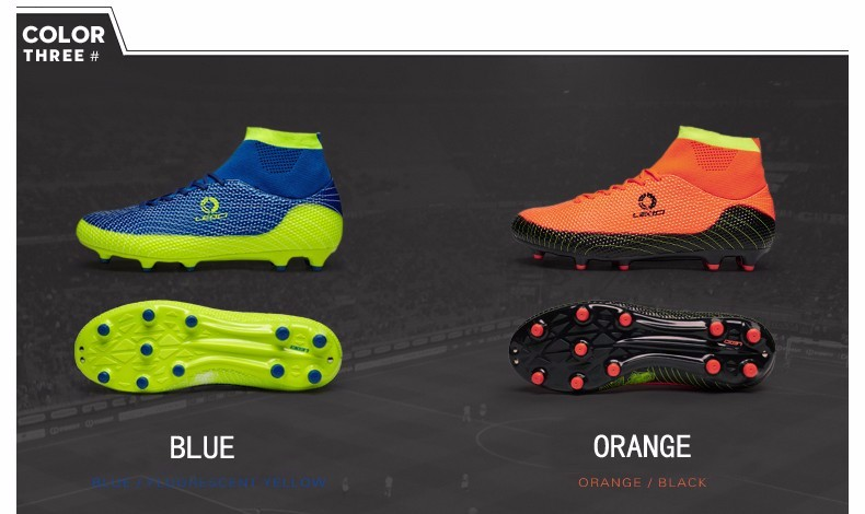 2017 High Ankle Kids Football Boots Superfly Original Cheap Indoor Soccer Football Shoes Cleats Boys Girls Sneakers High Quality 3