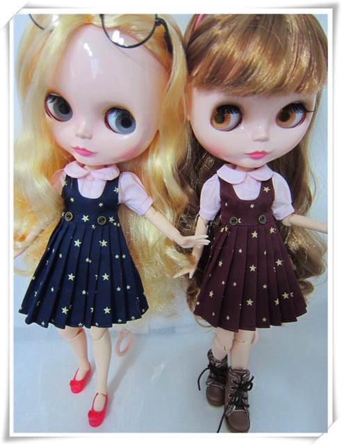 blyth clothes and skirts,suitable for Blyth doll,the skirt have two colors, with a gift.