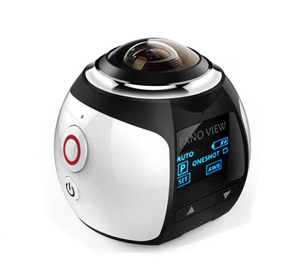MLLSE 1.5 pouces sans fil 360 degrés caméra panoramique 3D VR Action Sport caméra Wifi 16MP 4 K HD 30fps étanche Mini DV lecteur