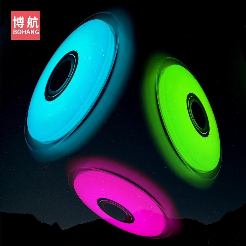 Moderno LED luces de techo RGB regulable 25W 36W 52W APP control - Iluminación interior - foto 3