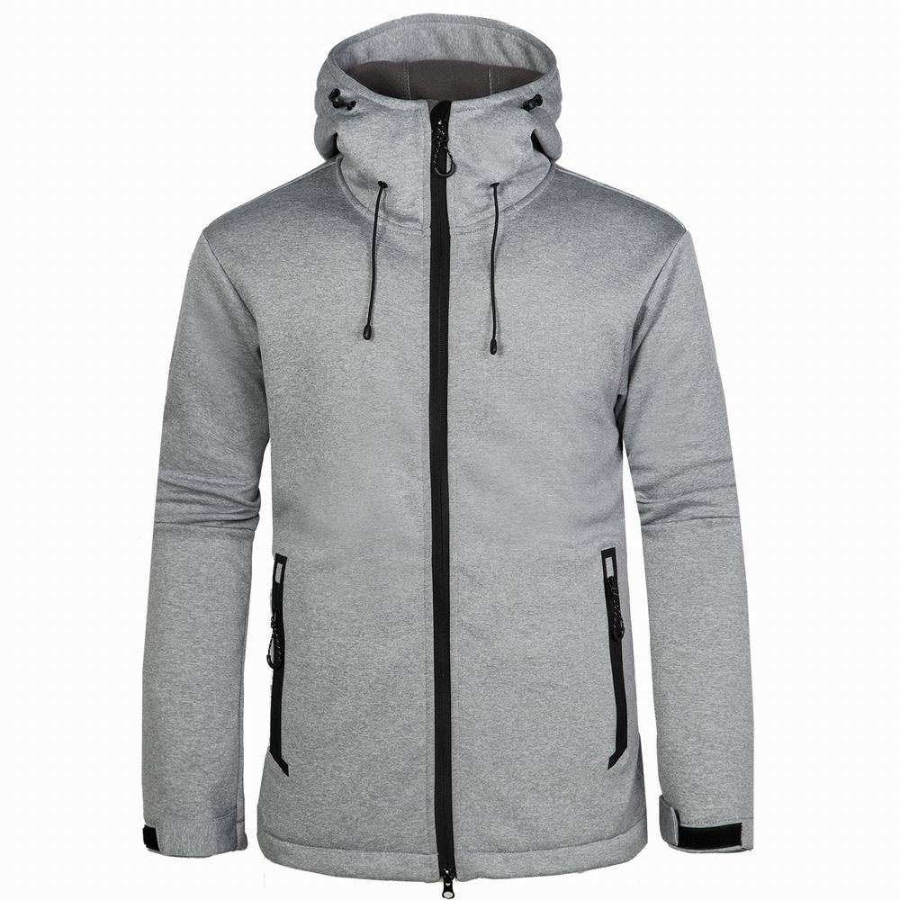 a9abebafb8174 Winter Jacket Men Softshell Thermal Hooded Hunting Clothes Outdoor Sports  Windproof Hiking Coat Camping Cycling Mens Jackets-in Hiking Jackets from  Sports ...