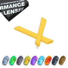 ToughAsNails Resist Seawater Corrosion Polarized Replacement Lenses and Yellow Ear Socks for Oakley Jawbone - Multiple Options