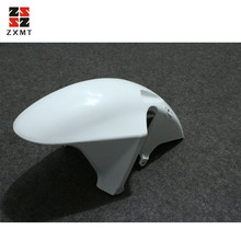 ZXMT Motorcycle Unpainted White Front Fender Mudguard Fairing Fit For HONDA CBR954RR 2002 2003 02 US Engine Guard Cover