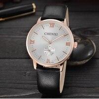 2016 New CHENXI Watch Luxury Brand Diamond Crystal Gold Case Elegant Men Quartz Wrist Gift Dress