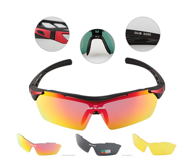 0ea02df19d GUB Cycling Glasses Men Women Polarized Bike Eyewear Bicycle Goggles  Outdoor Sports Bicycle Sunglasses Goggles