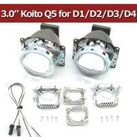 Car Hid Bi Xenon Projector Lens Headlight 3 0 Xenon Lens Koito Q5 Light European Cutting