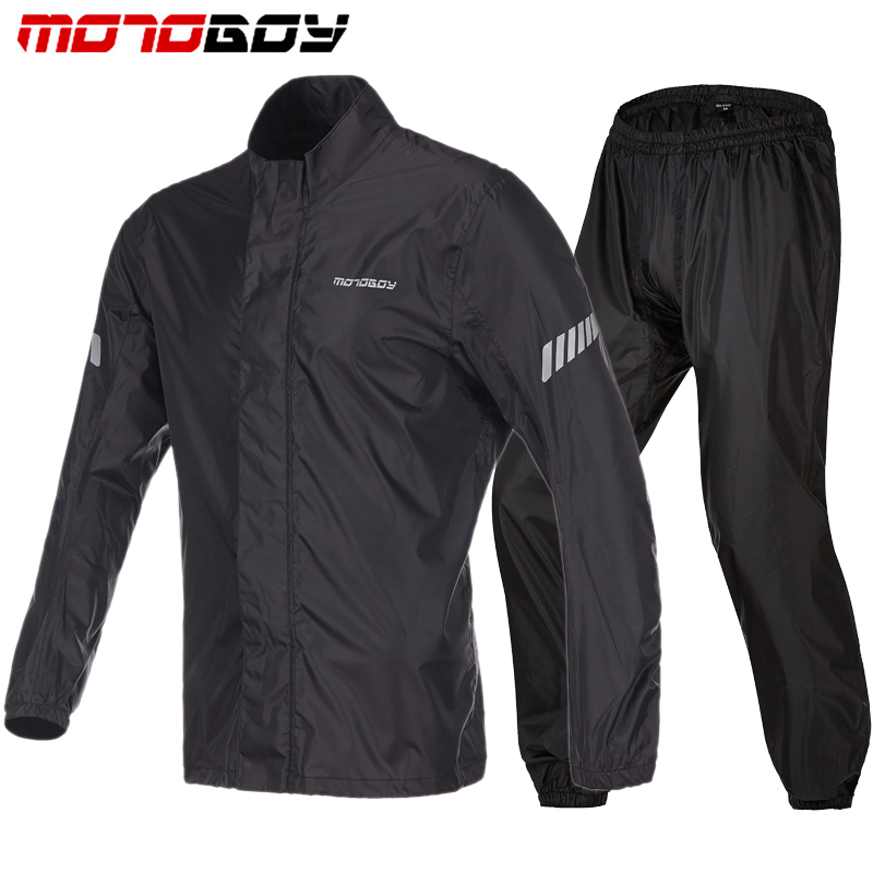 100 Motorcycle BRAND RAINPROOF Waterproof Rain coat Outdoor Raincoat Thicker Slicker Heavy Water Rain Gear Reflective