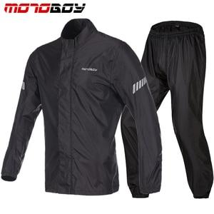 Image 4 - Motoboy オートバイ防雨防水レインコート屋外重水雨具反射 Rainsuits クライミングハイキング雨ジャケット