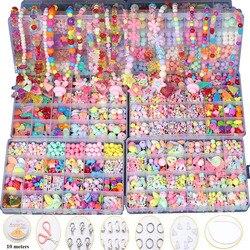 Детские творческие DIY бисер игрушка с целым набор аксессуаров/Для девочек ручной работы художественных промыслов Развивающие игрушки для п...